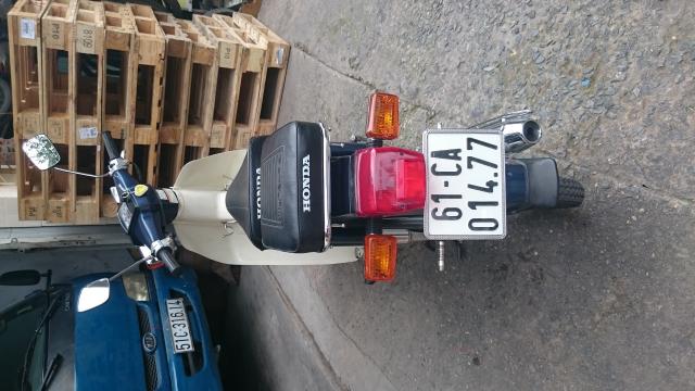 Honda Cub Custom 50 nhu moi - 8