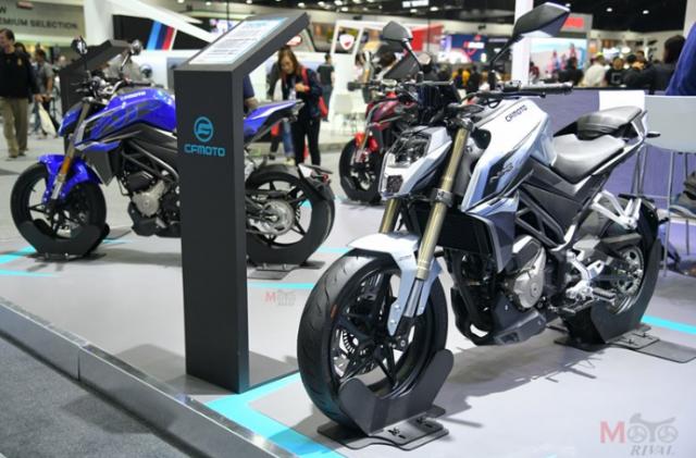 CF Moto cong bo 4 mo hinh tai Motor Expo 2018 voi gia khoi diem tu 61 trieu VND - 5