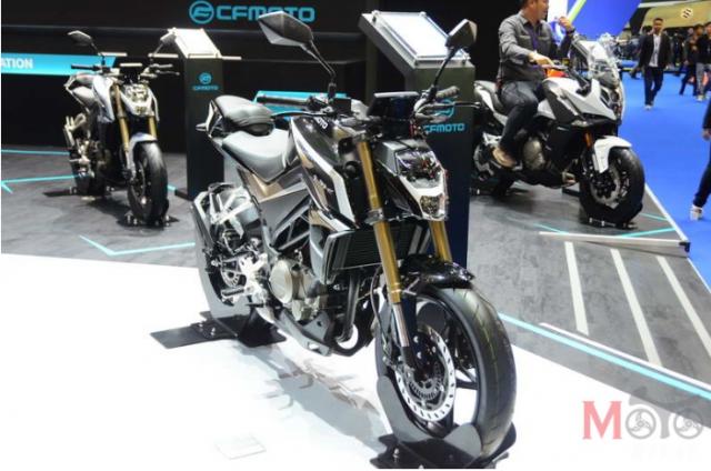 CF Moto cong bo 4 mo hinh lan dau tien tai Motor Expo 2018 - 3