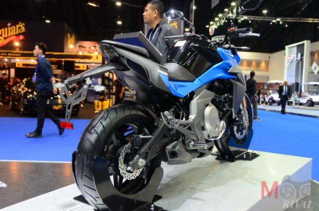 CF Moto cong bo 4 mo hinh lan dau tien tai Motor Expo 2018 - 5