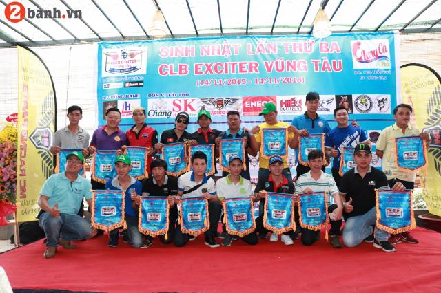 CLB Exciter Vung Tau chay cung dam me trong dai tiec tron III tuoi - 15