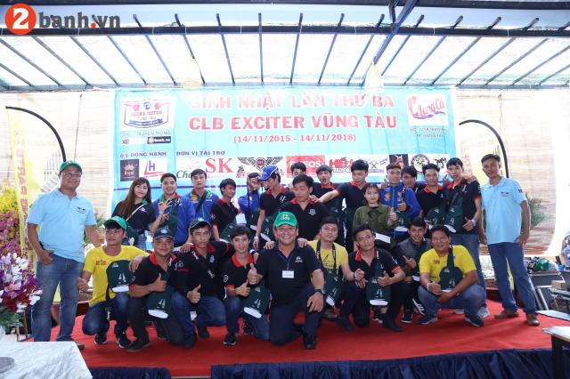 CLB Exciter Vung Tau chay cung dam me trong dai tiec tron III tuoi - 27