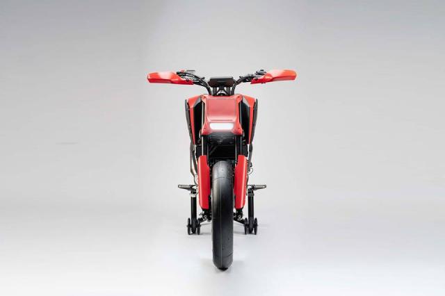 EICMA18 Honda gioi thieu concept CB125M mang phong cach neoretro - 3