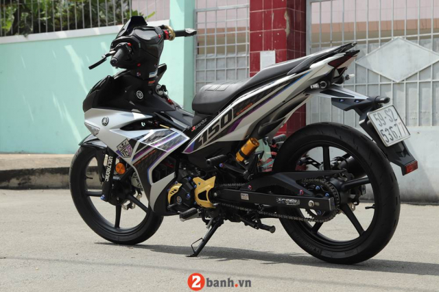 Exciter 150 do full phong cach Y15ZR cung dan do choi chat luong nhat hien nay - 3