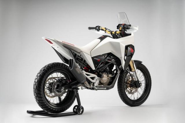Honda CB125X 2019 quai vat dia hinh co nho danh cho dan tap choi - 5