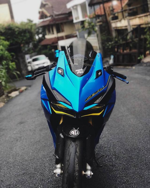 Honda CBR250RR do phong cach xanh Blue tran day hi vong - 3