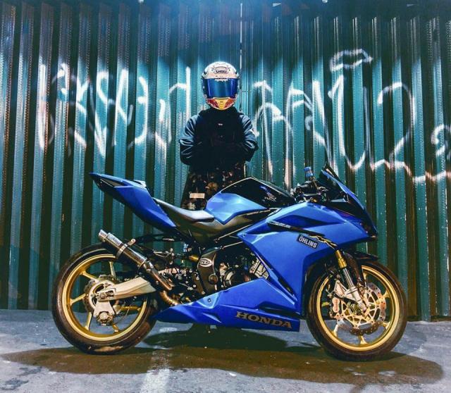 Honda CBR250RR do phong cach xanh Blue tran day hi vong - 5