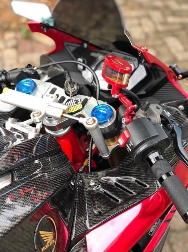Honda CBR250RR Say dam voi phong cach Racing day lich lam - 5