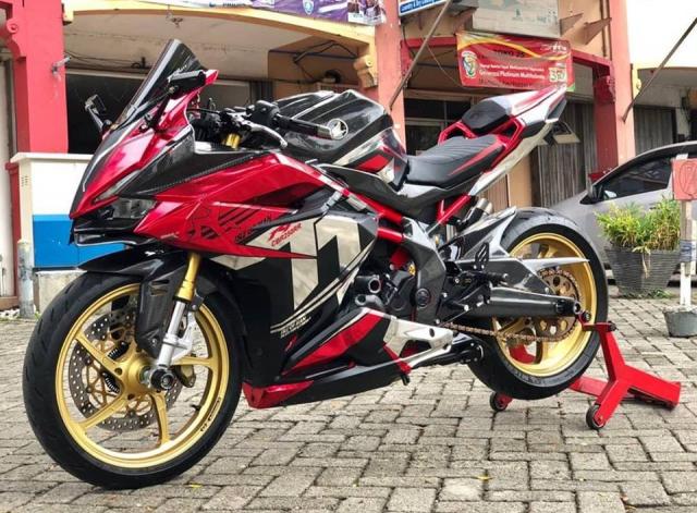 Honda CBR250RR Say dam voi phong cach Racing day lich lam - 10