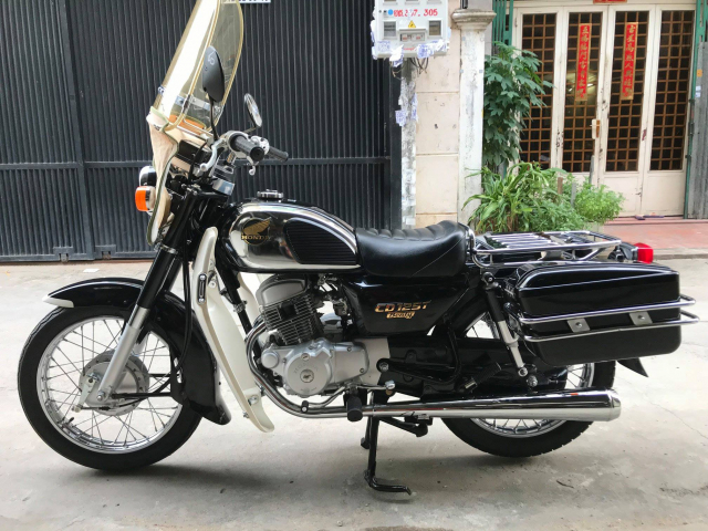 Honda CD125cc dau 12doi 1989 nguyen ban cuc dep leng keng zin 100 may cuc em - 3