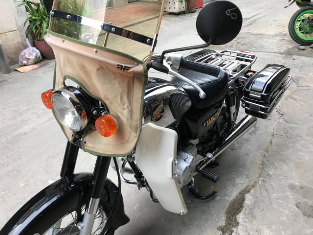 Honda CD125cc dau 12doi 1989 nguyen ban cuc dep leng keng zin 100 may cuc em - 5