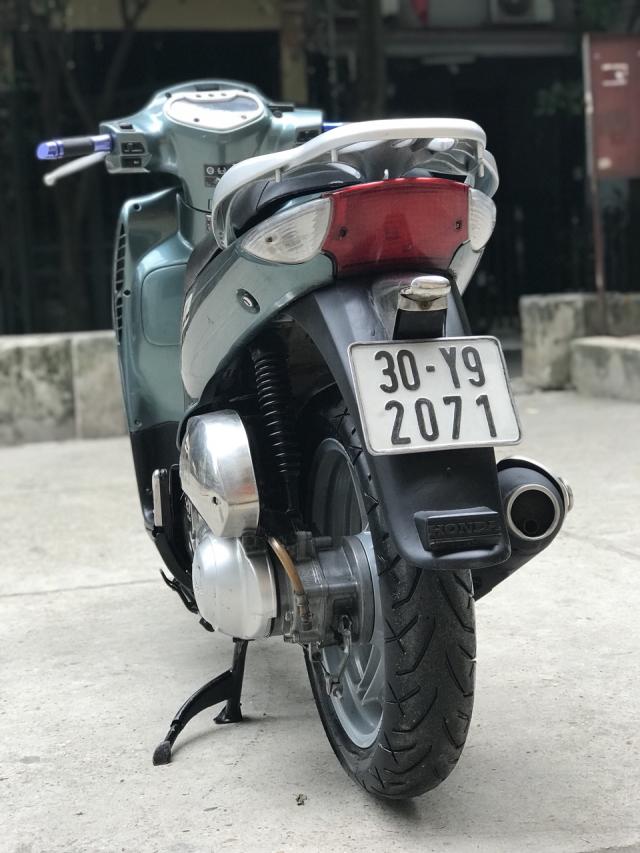 Honda SH mau xanh nhap Y nguyen zin bien 30Y92071