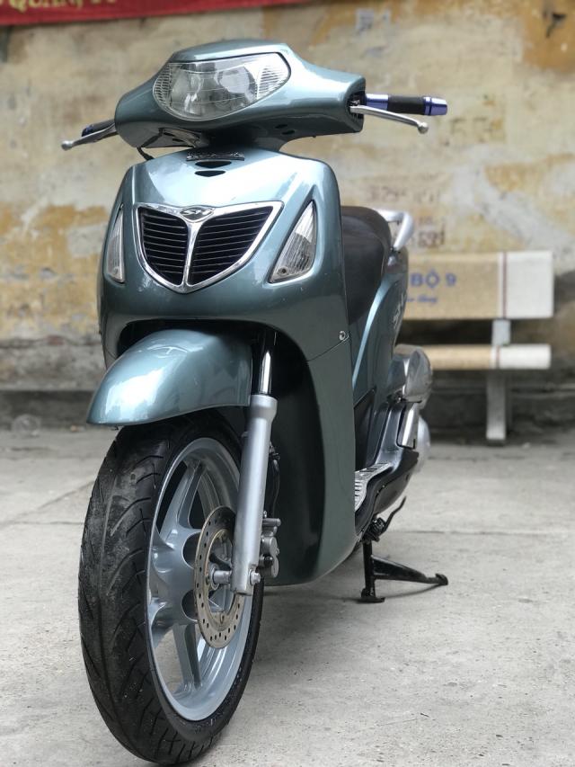 Honda SH mau xanh nhap Y nguyen zin bien 30Y92071 - 4