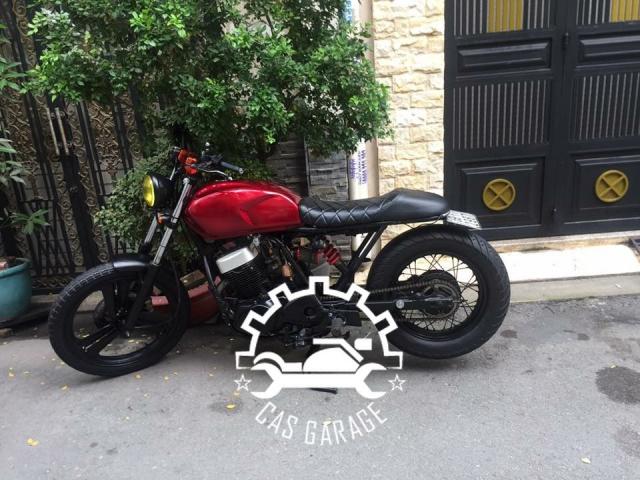 Husky SYM 125cc len tracker CAS garage