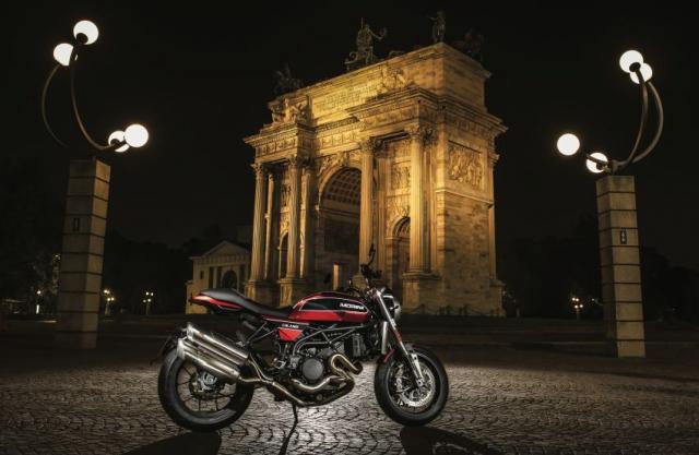 Moto Morini Milano va Corsaro 2019 duoc gioi thieu mang dam thiet ke Scrambler nhung nam 70 - 12