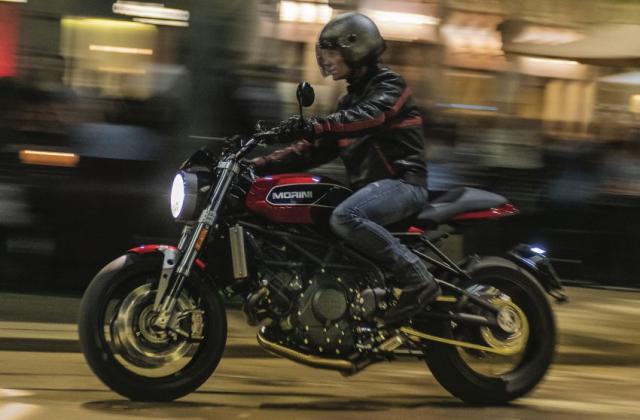 Moto Morini Milano va Corsaro 2019 duoc gioi thieu mang dam thiet ke Scrambler nhung nam 70 - 22