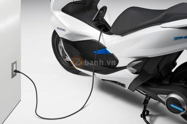PCX Electric duoc Honda ra mat dich vu cho thue xe tai Nhat - 8