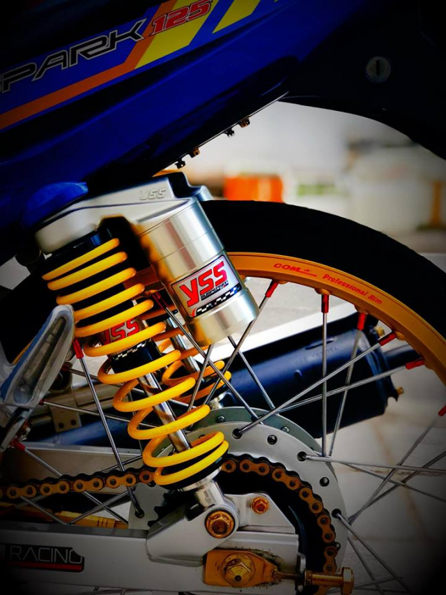 Sirius do nong bong voi he thong tro luc ong xa cua biker Viet - 7