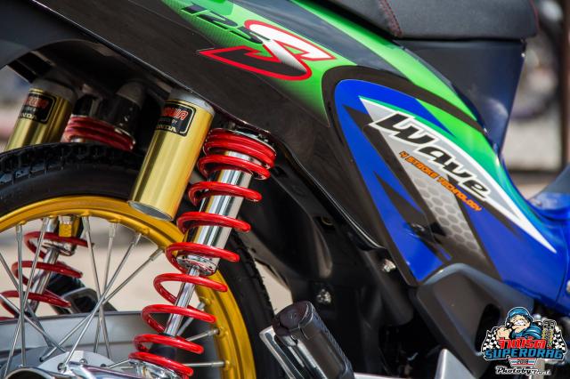 Wave 125 do dan chan Sexy de lai nhieu cam xuc do xe cho biker Viet - 6