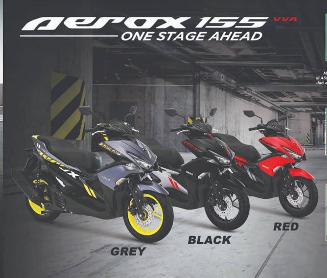 Yamaha Aerox 155 2019 bo sung sac mau moi ca tinh the thao - 2