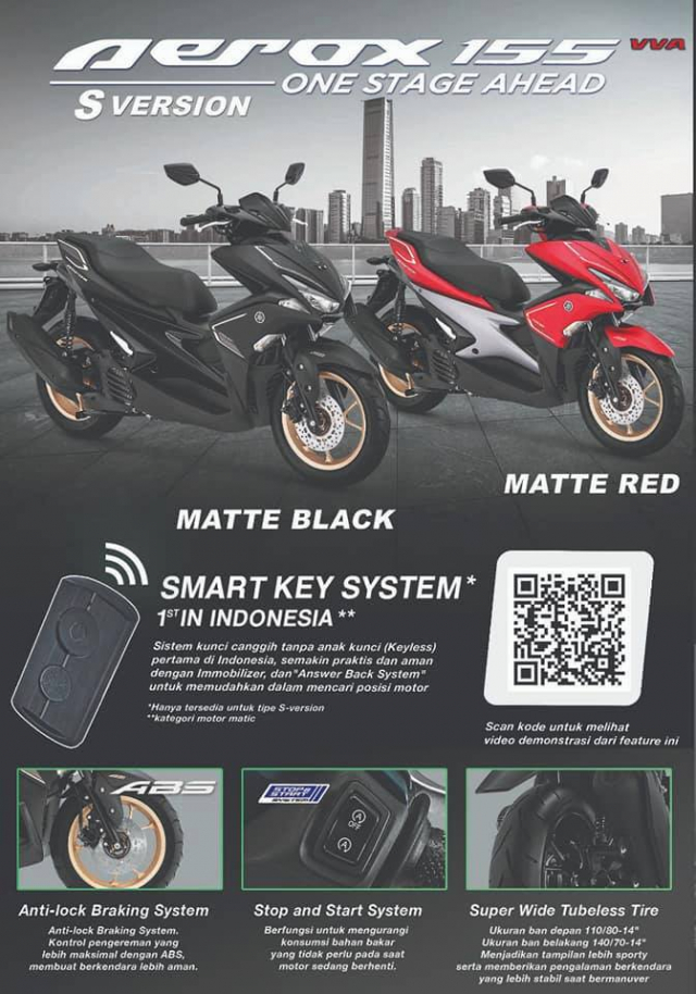 Yamaha Aerox 155 2019 bo sung sac mau moi ca tinh the thao - 4
