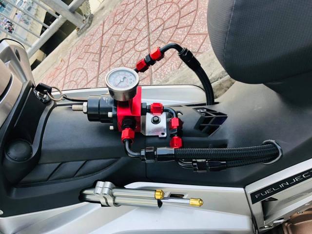 Yamaha Crypton X135 voi suc manh 62mm sieu khung - 4