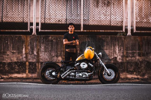 Yamaha Dragstar 400 sieu ngau va day ca tinh voi Style Bobber - 2