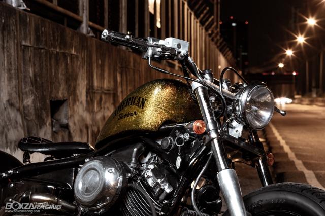 Yamaha Dragstar 400 sieu ngau va day ca tinh voi Style Bobber - 4