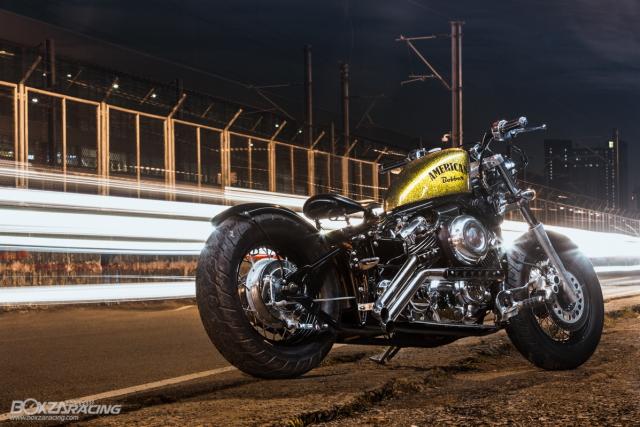 Yamaha Dragstar 400 sieu ngau va day ca tinh voi Style Bobber - 8