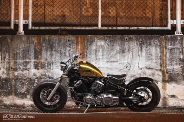 Yamaha Dragstar 400 sieu ngau va day ca tinh voi Style Bobber - 10