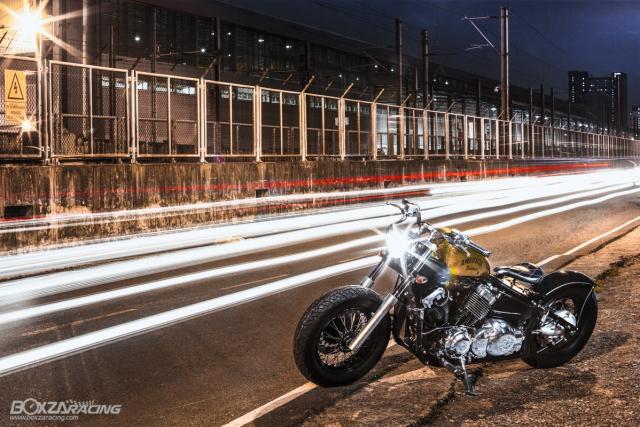 Yamaha Dragstar 400 sieu ngau va day ca tinh voi Style Bobber - 12