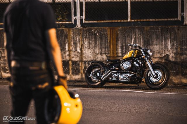 Yamaha Dragstar 400 sieu ngau va day ca tinh voi Style Bobber - 14