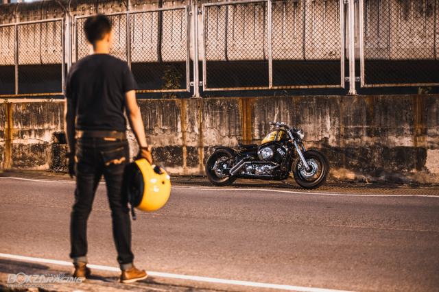 Yamaha Dragstar 400 sieu ngau va day ca tinh voi Style Bobber - 16