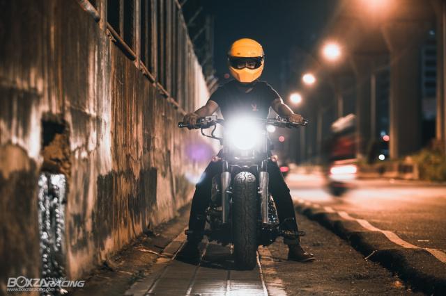 Yamaha Dragstar 400 sieu ngau va day ca tinh voi Style Bobber - 18