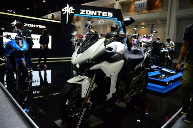 Zontes X310 R310 duoc gioi thieu voi gia chinh thuc tu 91 trieu VND tai Motor Expo 2018 - 3
