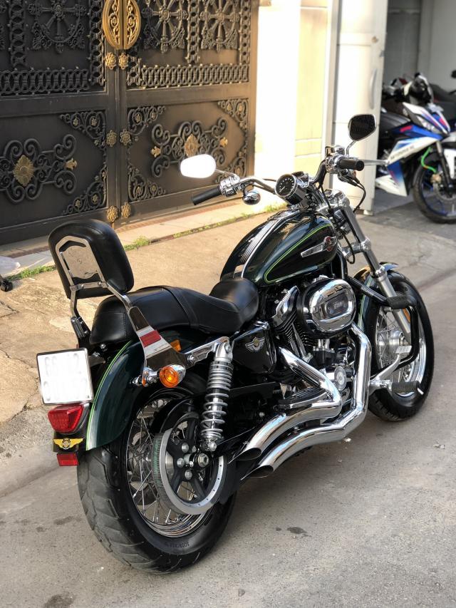 __Can Ban HARLEY DAVIDSON Sportster 1200cc Custom ABS HQCN DKLD 52017 odo 10000km ngay chu - 6