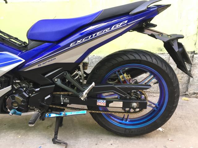 Ban Exciter 150 Fi 2015 mau xanh GP Bstp Chinh chu - 5