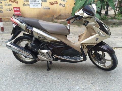 Ban Yamaha Nouvolx 135 IV ban cuoi 2011 chinh chu con rat moi 12tr - 4