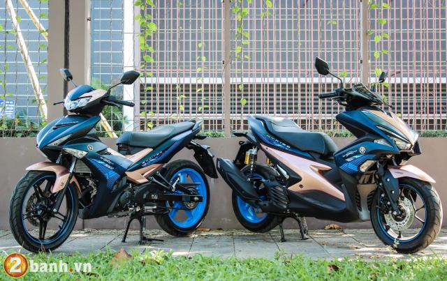Yamaha Exciter 150 NVX 155 phien ban Doxou Trao luu xe thoi trang moi cua gioi tre 2019 - 2