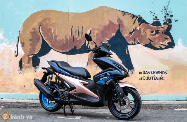 Yamaha Exciter 150 NVX 155 phien ban Doxou Trao luu xe thoi trang moi cua gioi tre 2019 - 7