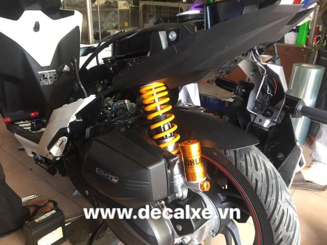 Do choi trang tri xe vario click thai 2018 - 42