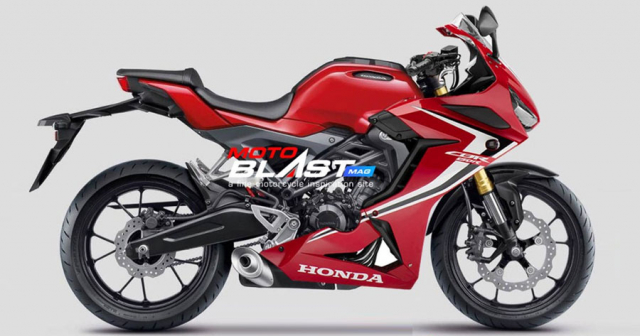 Honda du dinh se thay doi giao dien thiet ke CBR300R CBR150R 2019 tuong tu CBR650R 2019 - 3