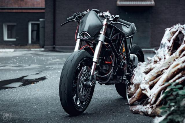 Ducati 900SS do hao nhoang den tu Mosscow duoi cai ten SS1100 Carbon - 3