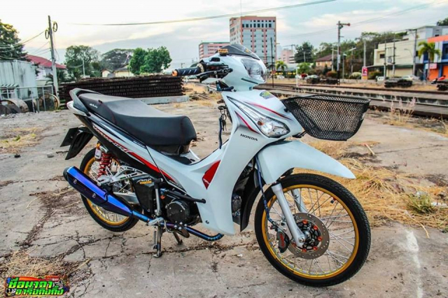 Future 125 do king of doat giai xe dep cua dan choi Thai - 6