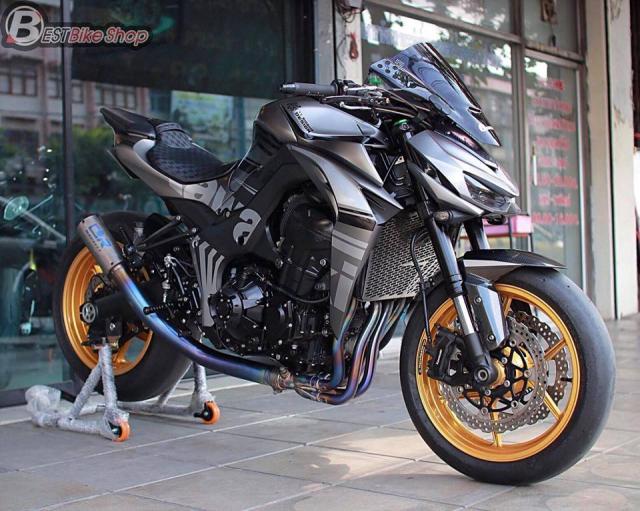 Kawasaki Z1000 nang cap khac biet den tu TT Bigbike Design - 3