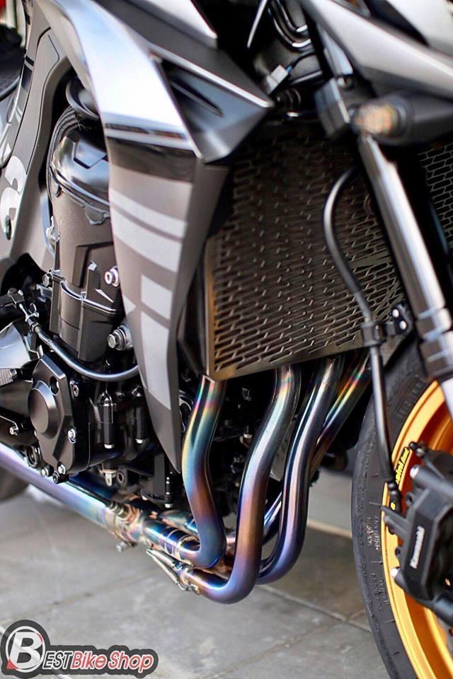 Kawasaki Z1000 nang cap khac biet den tu TT Bigbike Design - 10