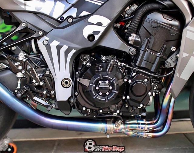 Kawasaki Z1000 nang cap khac biet den tu TT Bigbike Design - 12