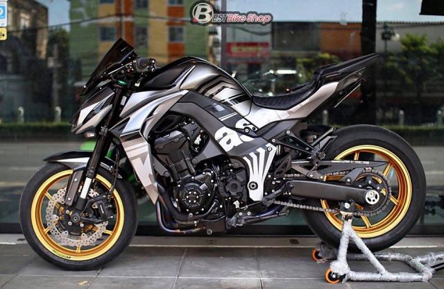 Kawasaki Z1000 nang cap khac biet den tu TT Bigbike Design - 14