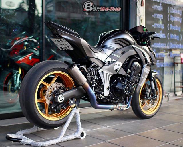 Kawasaki Z1000 nang cap khac biet den tu TT Bigbike Design - 16