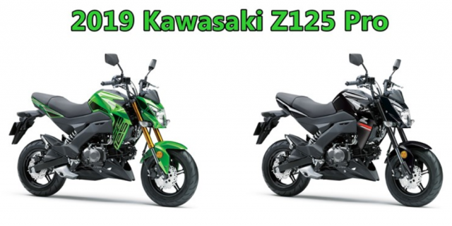 Kawasaki Z125 Pro 2019 ra mat voi phien ban tem moi day ca tinh - 4